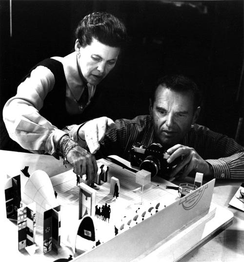 Дизайнеры Charles & Ray Eames (Чарльза и Рэй Имс)